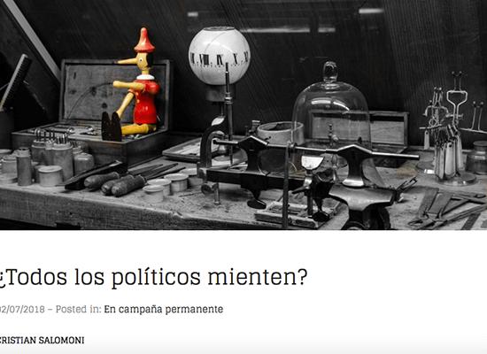 ¿Todos los políticos mienten? Beers and politics.com