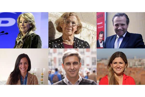 Guía de candidatos a la alcaldía de Madrid. Madrid es Noticia