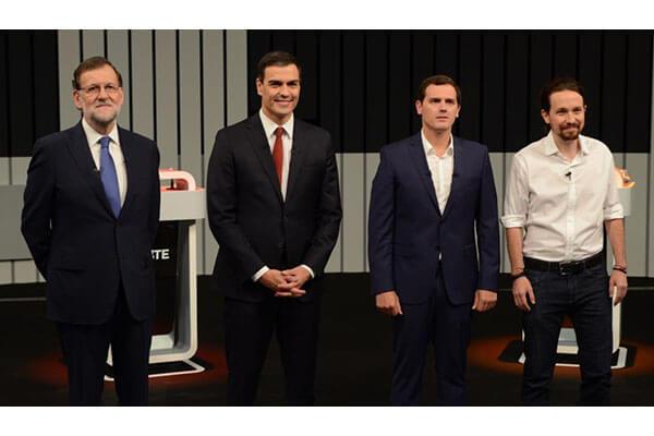 Rajoy poco empático, Iglesias apagado, Sánchez egocéntrico y Rivera más emocional. La Informacion.com
