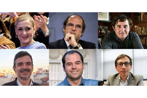 Candidatos a la Comunidad de Madrid, una guía. Madrid es Noticia